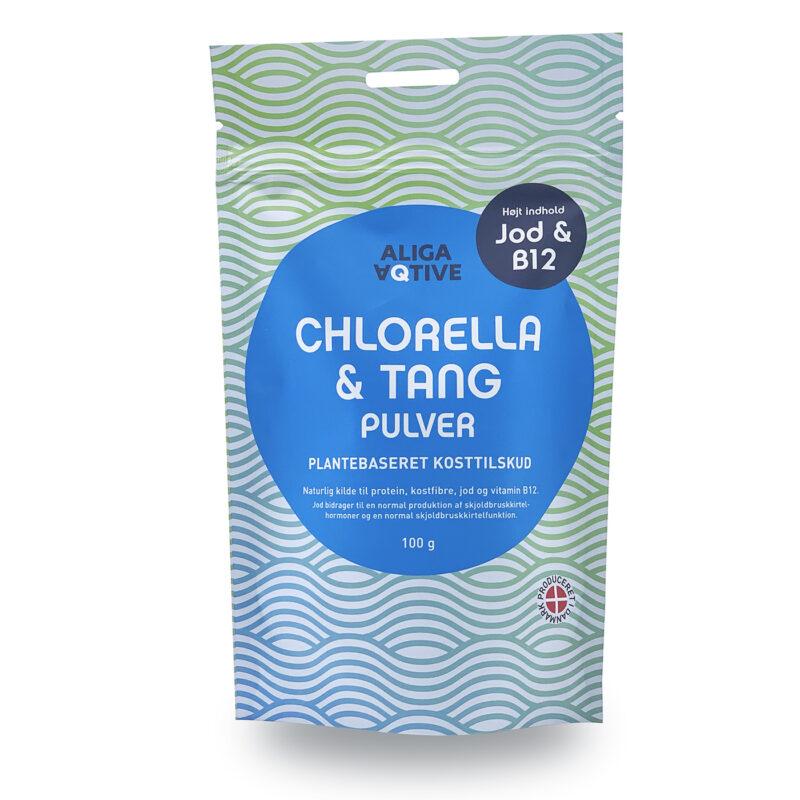 Aliga Aqtive Chlorella & Tang pulver